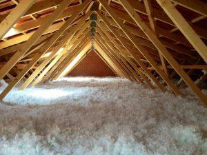 isolants thermiques et écologiques pour des combles perdus: La laine de coton