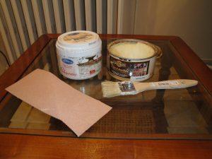 Matériel nécessaire pour céruser un meuble en bois
