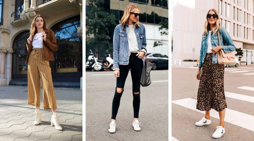 3 Vestes en jean pour 3 looks printaniers