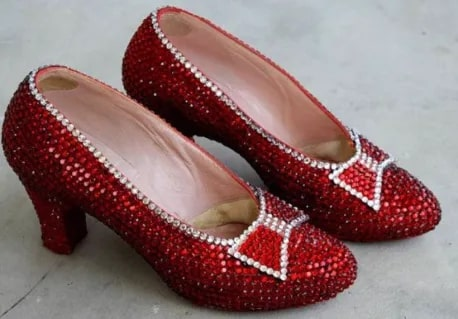 Chaussons Harry Winston Ruby
