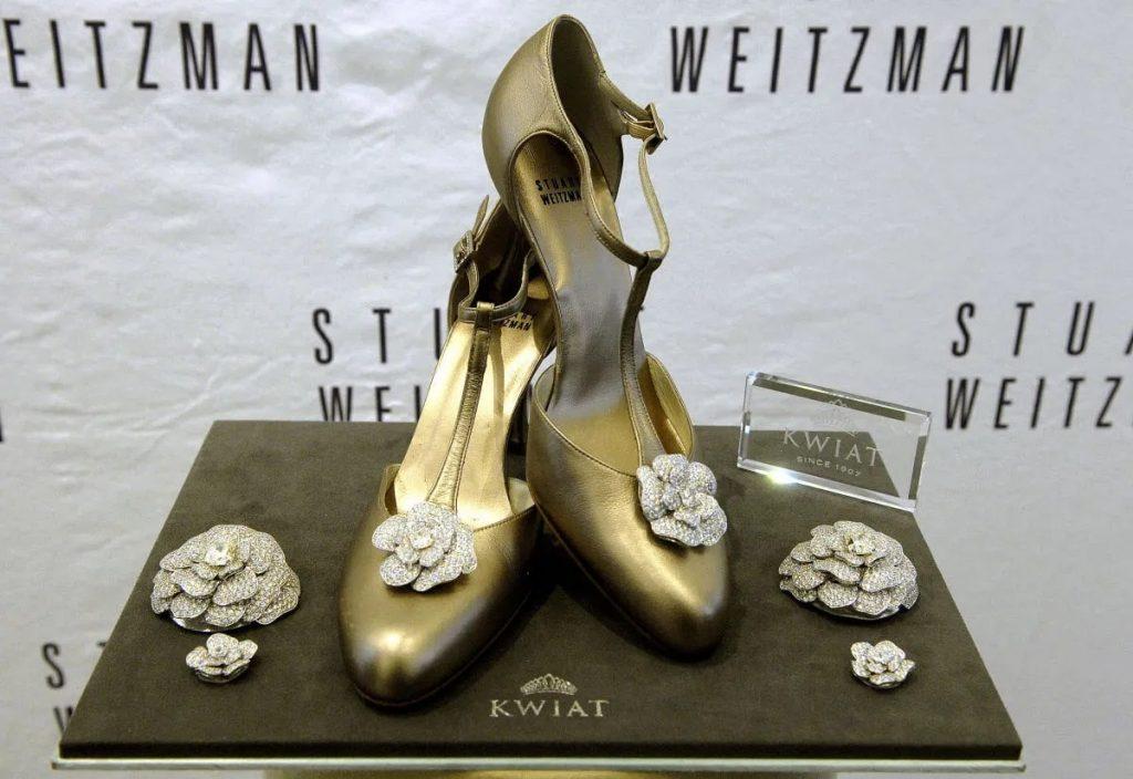 Escarpin Stuart Weitzman Retro Rose