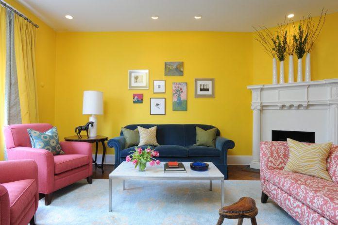 N'ayez pas peur des murs jaunes