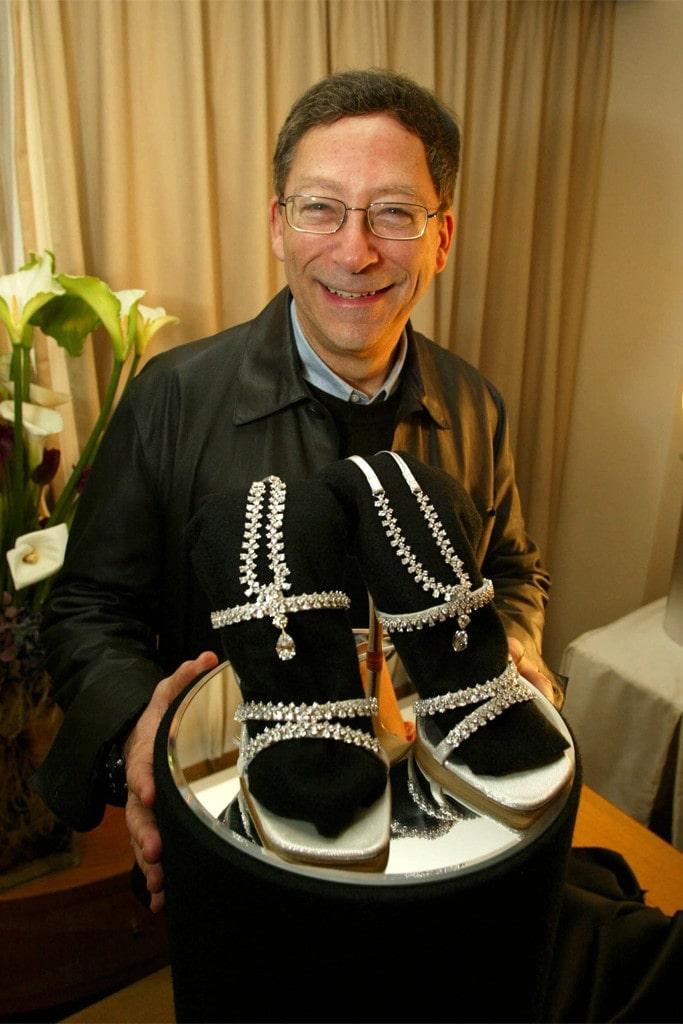 Stuart Weitzman Platinum Guild Stiletto