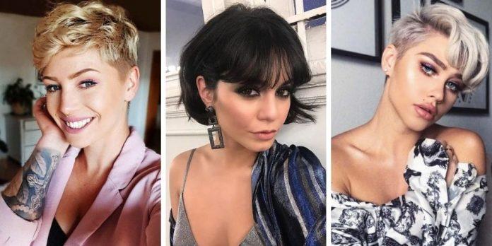 20 idées coquines pour porter les cheveux courts avec une frange