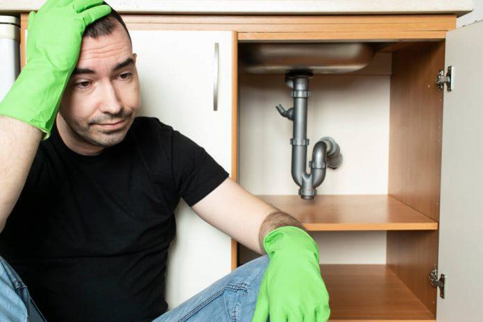 problème de canalisation bouchée